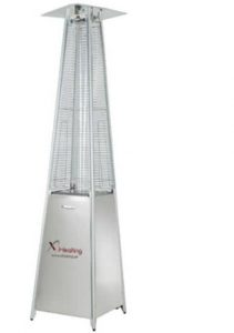 Gas pyramid Outdoor patio heater