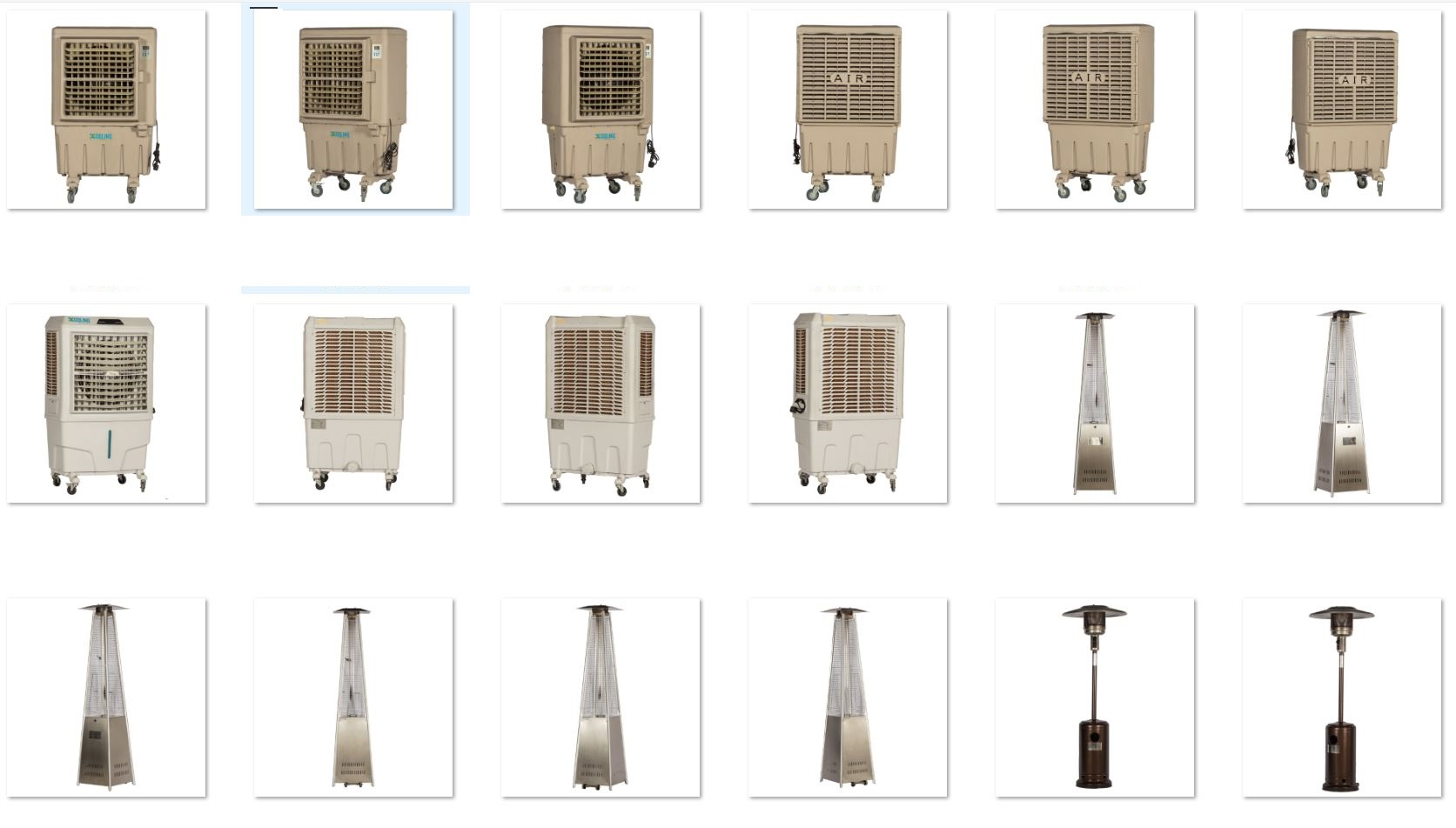 Best Outdoor Coolers  and outdoor AC rental service in Dubai